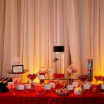 Guests were treated to a lavish display of the couple's favorite childhood treats