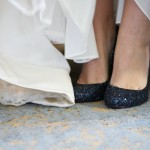 Melissa's sparkly midnight Christian Louboutins
