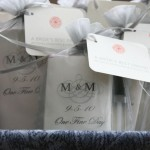 Personalized bridesmaid kits supplied by A Brides Best Friend Staff
