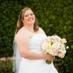 I love a bride's smile on her wedding day!